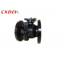 China DN65 Pneuamtic Actuator WCB Casting Steel Ball Valve With Mounting Pad wholesale