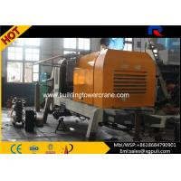 China Stationary Electric Concrete Pump 110KW Power Anti - wearing Hydraulic Liquid wholesale
