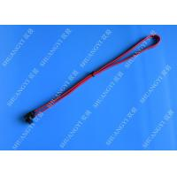 China SATA Revision 3.0 Black Laptop SATA Cable Straight To Right Angle SATA 600 wholesale