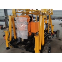 China Multifunction PDC 1200kg Trailer Mounted Drilling Rigs wholesale