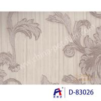 China PVC  Coating  Film    PVC Decorative Film  D-83026 Simple but elegant silver 0.12-0.14mm wholesale