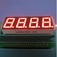 China Super Red 7-Segment LED Display for Temperature Control 4-digit 0.56-inch wholesale