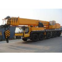 China Fully Extended Boom 47.8 Meter Hydraulic Truck Crane Heavy Construction Machinery wholesale