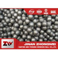 China Good Wear Resistance Mining Special Use Forged And Casting Grinding Balls For Ball Mill wholesale