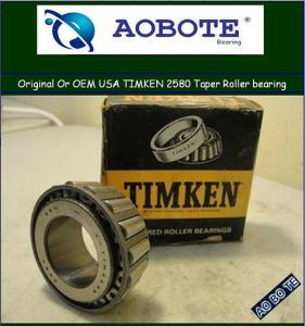 China USA original series SKF / Timken Tapered Roller Bearing on heavy duty 2580 wholesale
