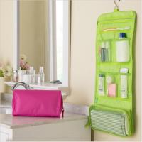 China Portable Hanging Travel Cosmetic Bags Waterproof For Avoiding Wetting Other Luggage wholesale