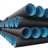 China High quality and cheap corrugated high-density polyethylene (hdpe) pipe wholesale