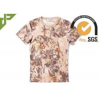 China Mandrake Cool Tactical T Shirts Army Style Quick Drying Short Sleeve For Unisex on sale