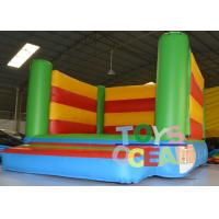 China Play Zone Mini Rainbow Inflatable Bouncer Combo Moonwalk For Toddler Rental wholesale
