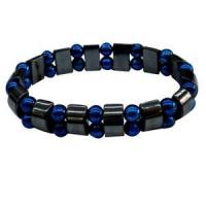 China magnetic hematite bracelet mix PMMA beads wholesale