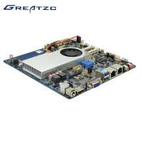 China Dual LAN Mini ITX Haswell Motherboard I5-4200U CPU For Universal Cases wholesale