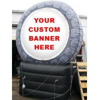 China inflatable product model replica / inflatable tire  / PVC Inflatable giant tire advertising wholesale