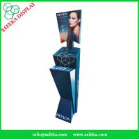 China paper material Custom Innovative pop displays Promotion Revlon display stand Cardboard Cosmetics display stand wholesale