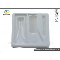 Buy cheap Eco Friendly Blister Plastic Packing Material Glossy Inner Tray For Cosmetic Bottle from wholesalers