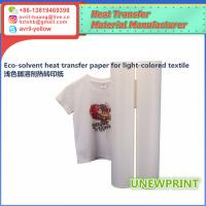 0.5m*30m light color eco solvent PU wholesale factory made roland mimaki printer heat transfer vinyl