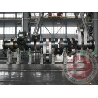 Quality Heavy Duty Slow Speed Forged Steel Crankshaft Astm En / Compressor Customized for sale
