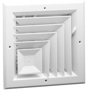 China Clear Anodize Construction Aluminum Profile Aluminum Extrusion Corner For Air Vents wholesale