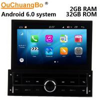 Buy cheap Ouchuangbo auto gps media radio S200 platform android 8.0 for Mitsubishi L200 from wholesalers