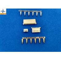 China Sigle Row molex 5264 equivalent Wire To Board Connector, 2.5 Mm Pitch Crimp Connector wholesale