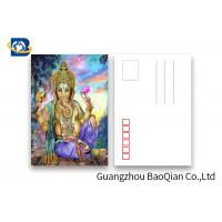 China Souvenirs Custom Lenticular Postcards 5D Effect Two Sides CMYK Printing wholesale