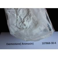 China Pharmaceutical Aromasin / Exemestane Safe Anabolic Steroid 107868-30-4 wholesale