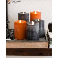 China Flame LED wax fall Candle of natural beauty and beautiful autumn colors wholesale