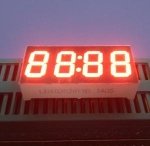 "China Super bright Red Yellow White 4 Digit  0.36"" Common Anode 7 Segment Display 30 X 14 X 7.2 Mm wholesale"