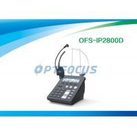China 0.25kg Call Center IP Phone 1 SIP line 5W Conference Phone System 9.9x8.7x12.1 cm Adjustable Camera wholesale
