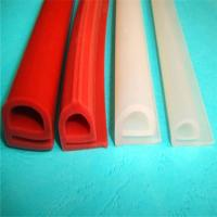 China Durable Silicone Extruded Profiles Electrically Insulating With Dielectric Strength 500 V/Mil wholesale