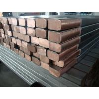 China Stainless Steel Custom Metal Components Clad Copper Busbar For Electroplating wholesale