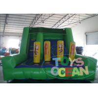 China Inflatable Obstacle Course Monkey Jungle Battle Slide For Kids And Adults wholesale