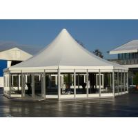 China Octagonal Glass Marquee Tent ML-075 , Aluminium Pagoda Tent SGS Approved on sale