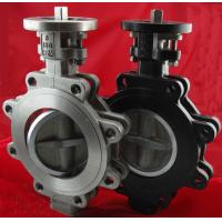 China PN10 Stainless Steel Centerline Butterfly Valves , Metal Seated Lug Type Butterfly Valve wholesale