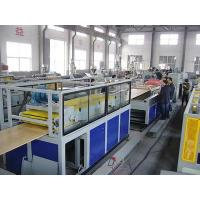 China Wood Plastic Composite PVC Door Plate Production Line , Door Panel Extrusion Line wholesale