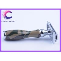 China Military camouflage double sided safety razor for  shaving & hair removal wholesale