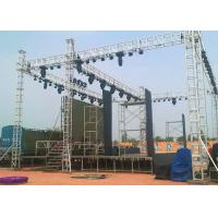 Quality Big Stage LED Screens Outdoor , waterproof LED Curtains Backdrop Enviromental for sale
