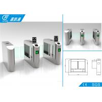 China Traffic Fence Swing Barrier Turnstile Security Control Self - Checking Function wholesale