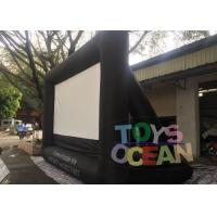 Quality Oxford Inflatable Fast Folding Projection Screen For Outdoor Commercial Exhibition for sale