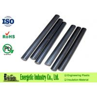 China Custom MOS2 Nylon Plastic Rod, Black Nylon 6 Plastic Rod / Tube on sale