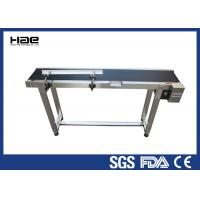 China Speed Adjustable Industrial Conveyor Belts Customized Size For Food Industry wholesale