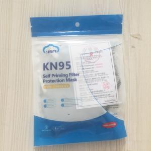 China Foldable Personal Protective Valve KN95 Respirator Earloop Mask wholesale