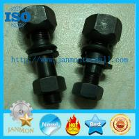 Buy cheap Front Bolt,High tensile bolt,Grade 10.9 bolt,Black oxide hex bolt,Auto hub bolt,Hex head bolt with nut,Front bolt nut from wholesalers