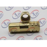 China Both End Milling Knurling Copper BushCnc Machined Components + - 0.1 Mm Tolerance wholesale