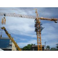 Self Erecting Tower Cranes with Cantilever Slewing Lifting
