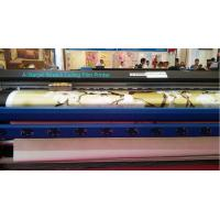 China Soft PVC Vinyl Large Format Printer in 2 pcs DX7 Head in CMYK Ink Color wholesale