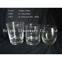 China 2015 hot sale clear wine glasses whiskey glasses beer mug for wholesale wholesale