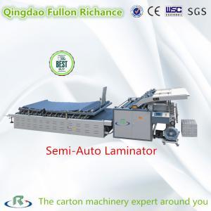 China High Speed Semi-Automatic Corrugated Paper Board Laminating Machine wholesale
