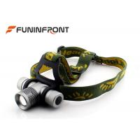 China CREE XPE  Zoom Outdoor LED Headlamp Bicycle Lights Using 18650 Battery wholesale