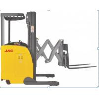 China 1500kg Load Capacity Electric Reach Truck Forklift With Double Scissor wholesale
