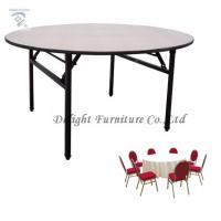 China DL-601  Round Folding Banquet Table/Hotel Furniture Set wholesale